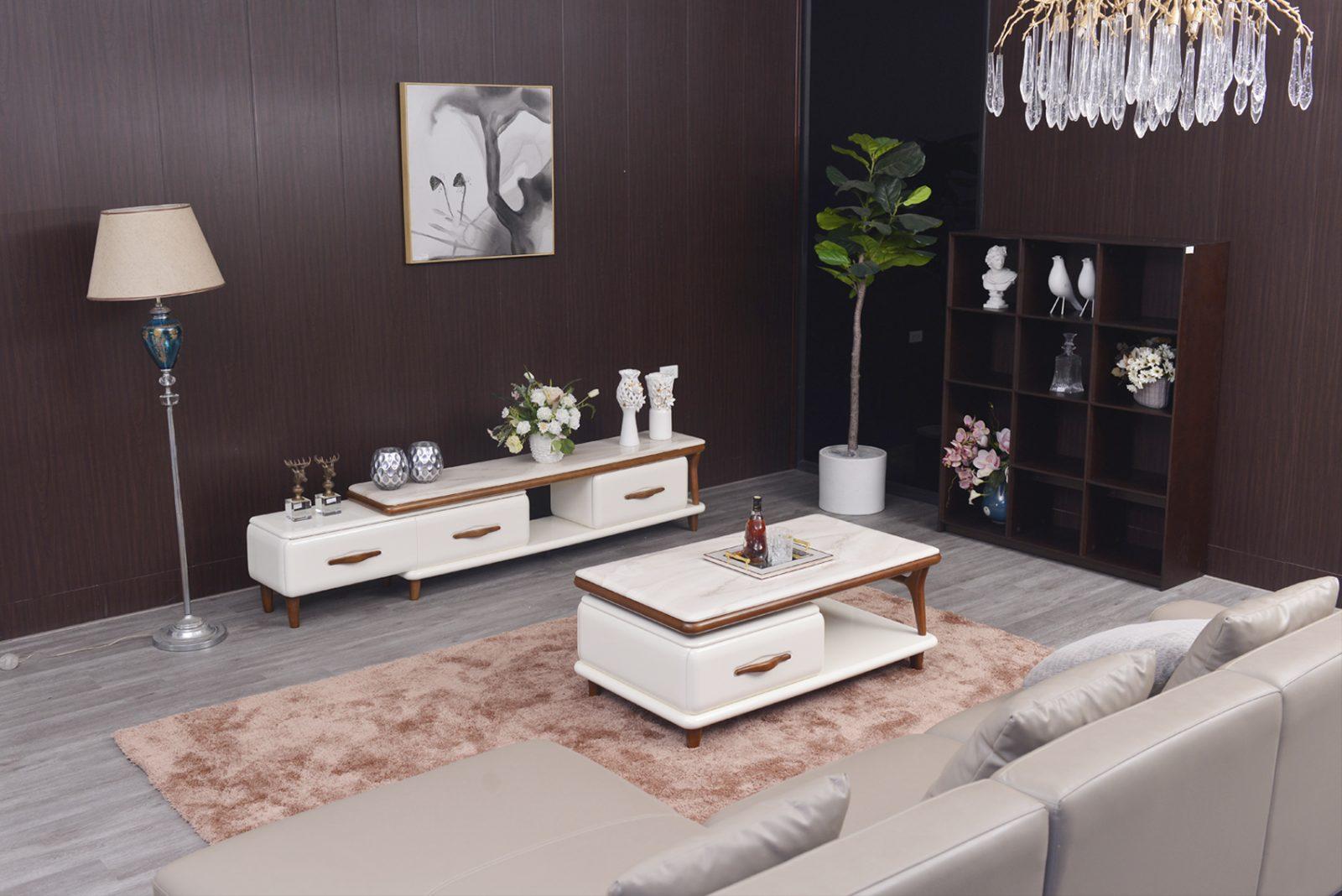 Bàn Sofa Gỗ Hiện Đại Cho Phòng Khách Bt512D-12