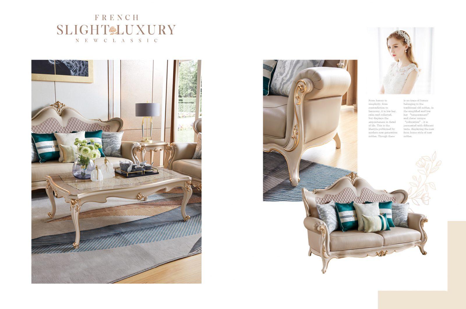 Bộ Sofa 123 Luxury Đẳng Cấp Sang Trọng Sb9801H-123 (Sao Chép)