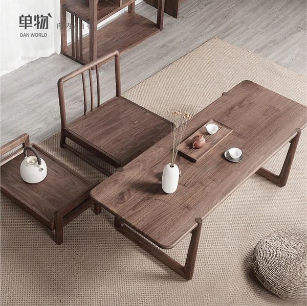 Bộ bàn ghế gỗ óc chó đẹp tự nhiên