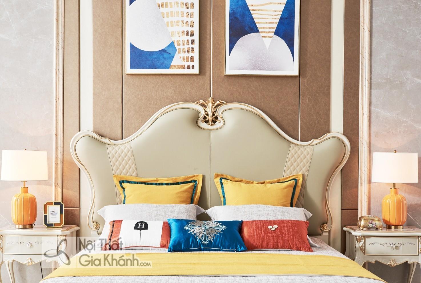 Giường Ngủ Luxury Phong Cách Sang Trọng Gi9802H-18