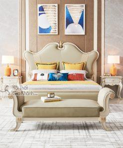 Giường ngủ Luxury GI9802H-18 phong cách sang trọng