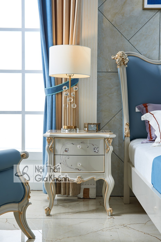 Giường Ngủ Luxury Gi9805H-18 Phong Cách Sang Trọng