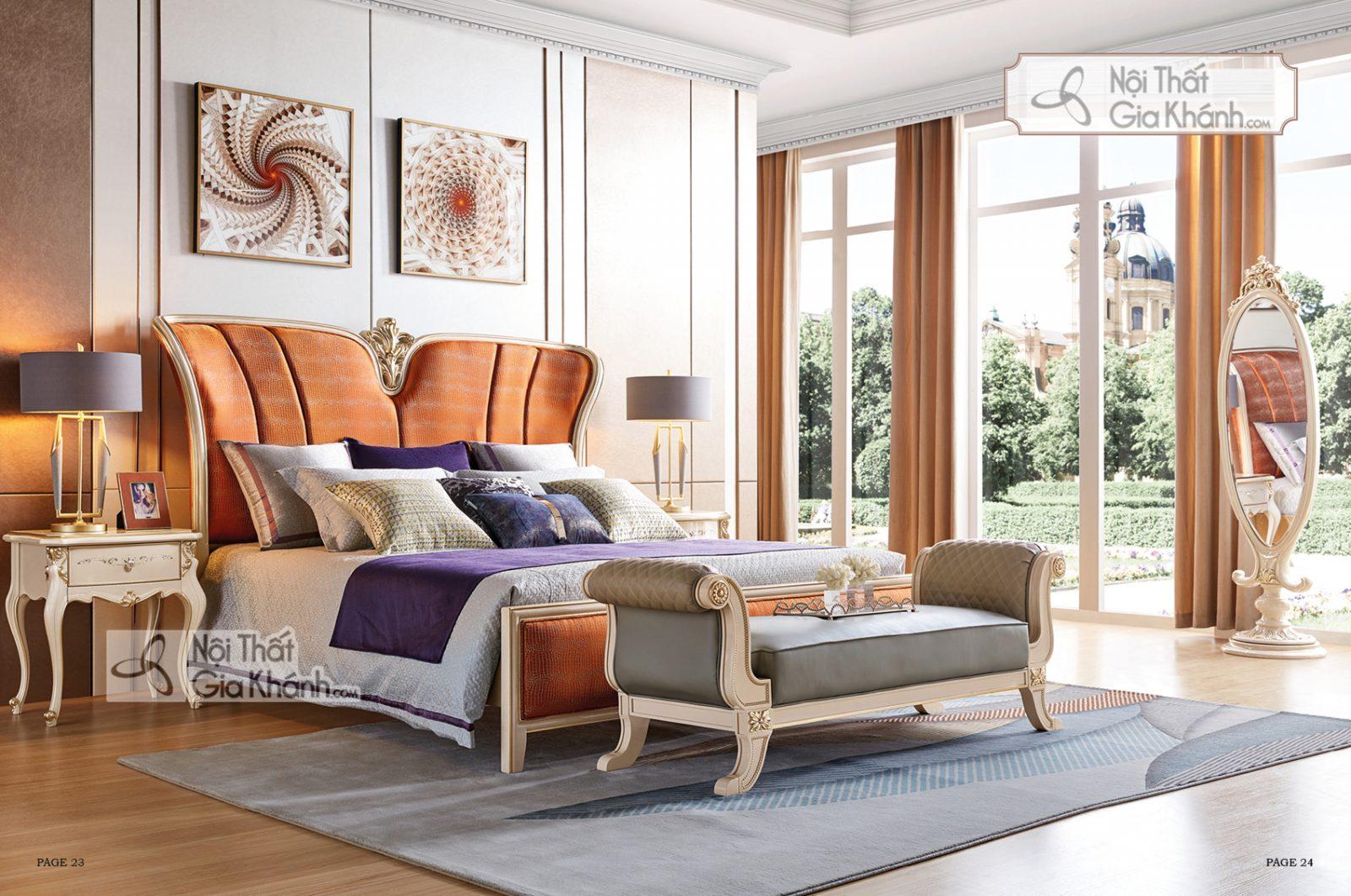 Giường Ngủ Luxury Gi9806H-18 Phong Cách Quí Phái