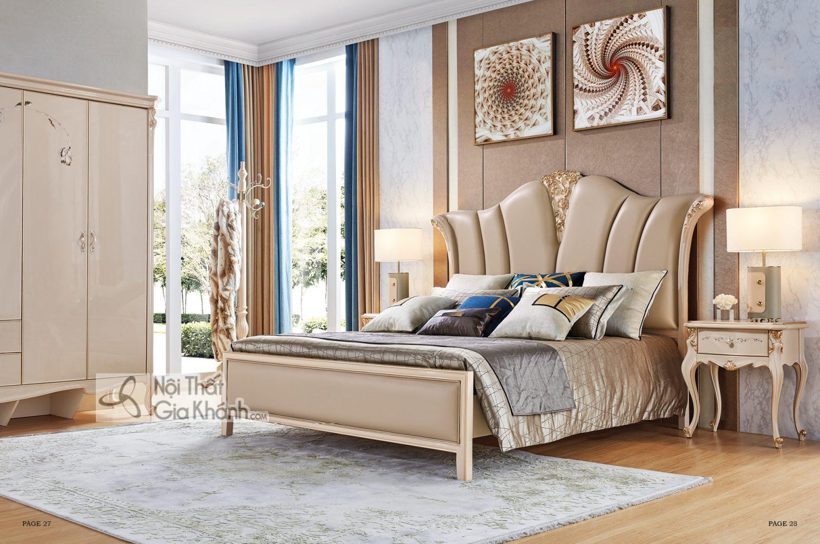 Giường Ngủ Luxury Gi9808H-18 Hiện Đại Phong Cách