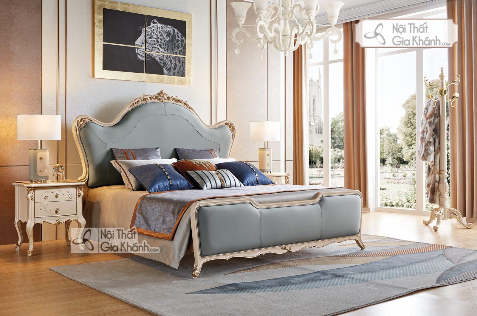 Giường ngủ Luxury GI9809H-18 Quí Phái Sang Trọng