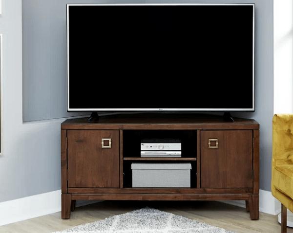 Kệ tivi góc tiết kiệm diện tích không gian nhà