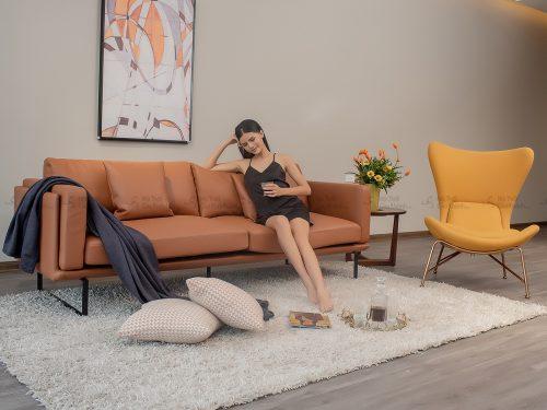 Sofa Da Nhap Khau Phong Cach Y Bang 3 Sb0064T50 3 3