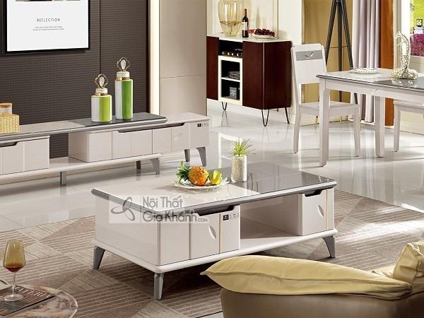 Tổng hợp mẫu bàn kính sofa, bàn trà kính cường lực cao cấp