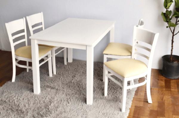 Bàn ăn cabin cao cấp cho không gian bếp