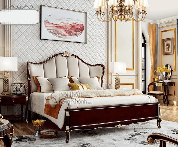 Bộ nội thất phòng ngủ tân cổ điển đơn giản