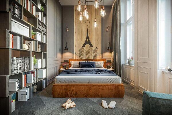 Phòng ngủ nội thất phong cách hiện đại