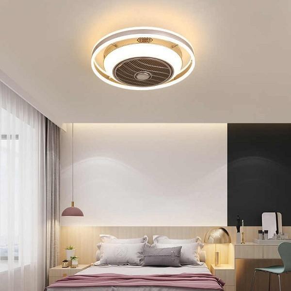 Đèn phòng ngủ đẹp hiện đại tạo sự thoải mái