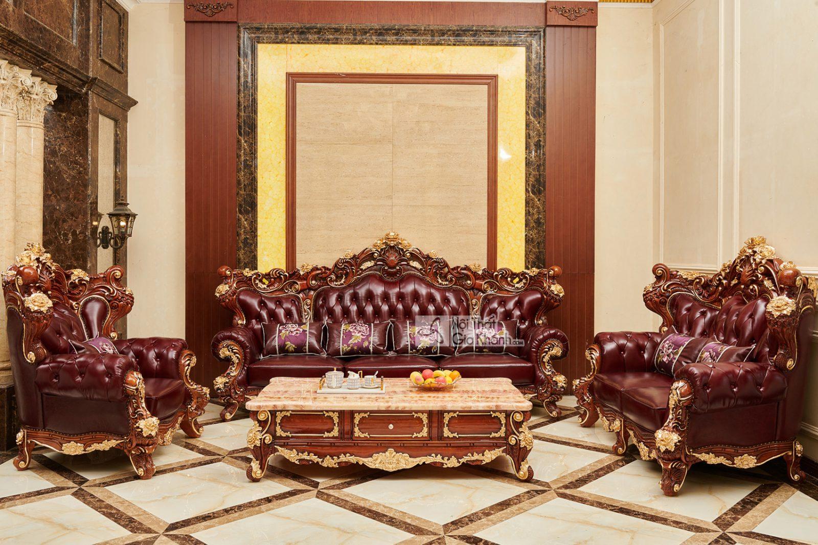THE SUN KING - Bộ sưu tập Nội Thất Tân Cổ Điển Hoàng gia