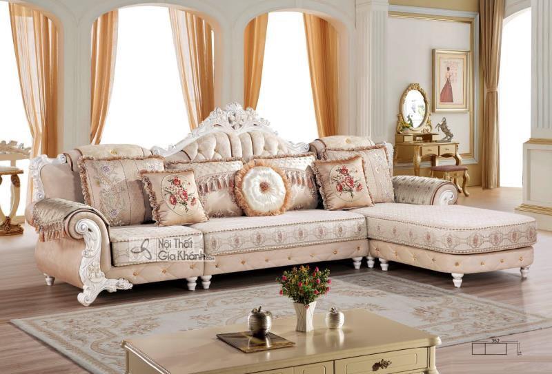 Bộ Sofa Vải Tân Cổ Điển Cao Cấp Góc Trái St9803 - 3