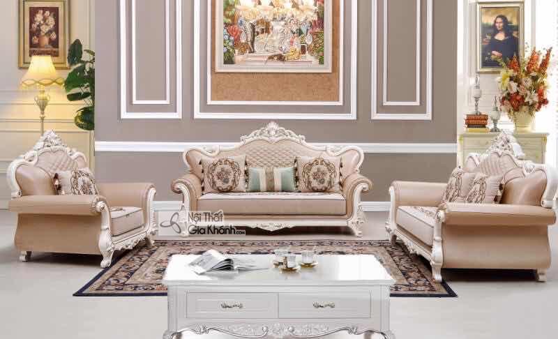 Bộ Sofa Vải Tân Cổ Điển Cao Cấp Sang Trọng Sb8919 -123