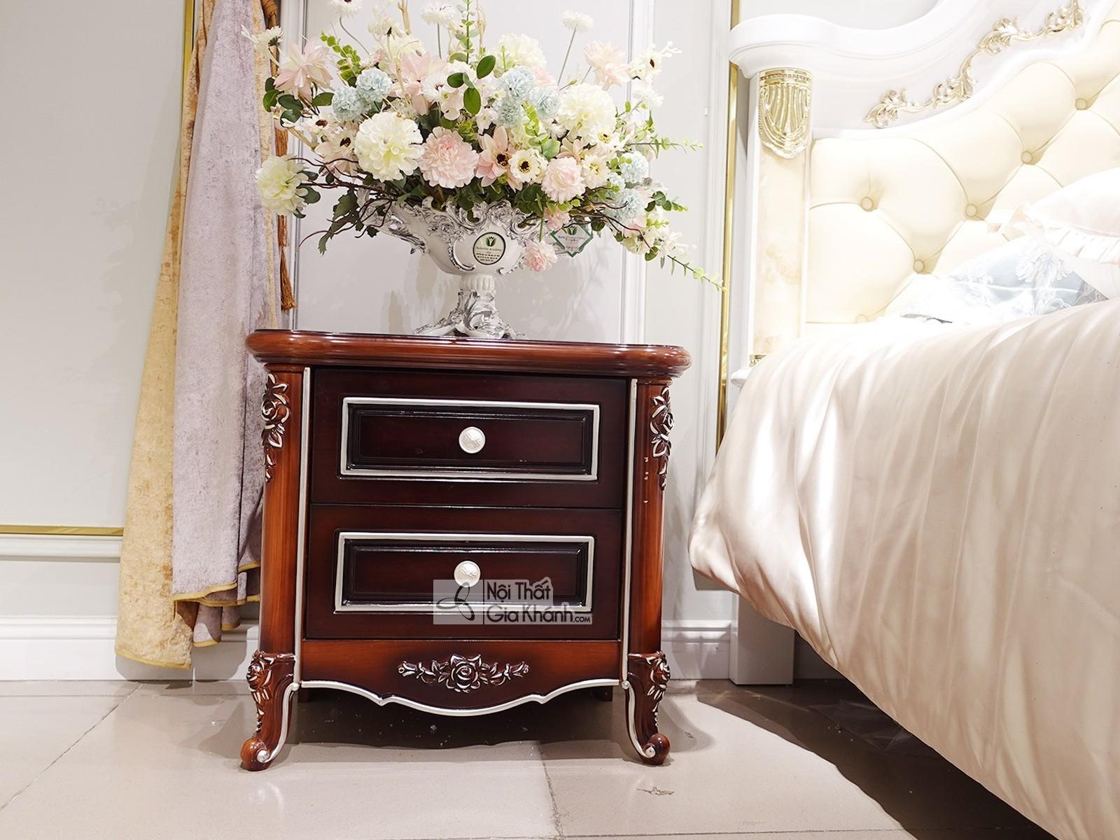 Tủ Đầu Giường Gỗ Đẹp Nhập Khẩu Ta0098B.