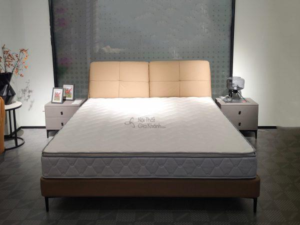 Giường bọc da cao cấp hiện đại GIC611-18