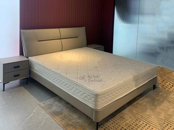 Giường bọc da hiện đại cao cấp GIC609-18