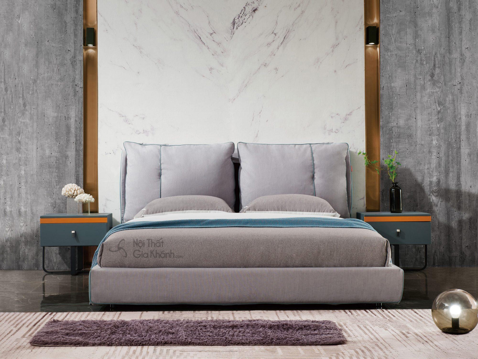 Giường bọc da tối giản GILB608-18
