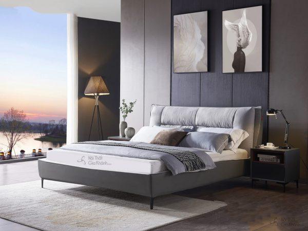 Giường bọc vải cao cấp GILB609-18