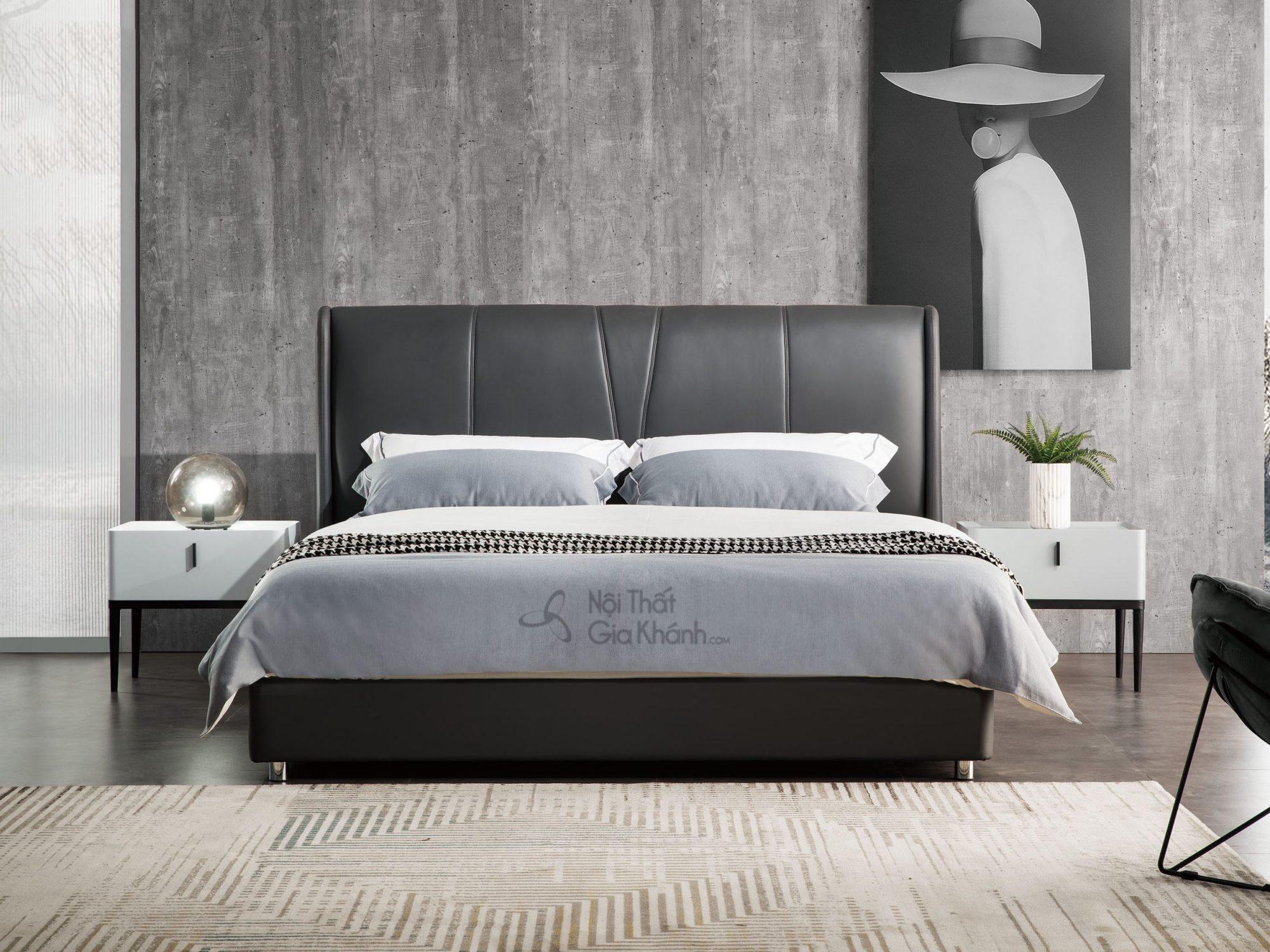 Giường bọc vải hiện đại GILB601-18