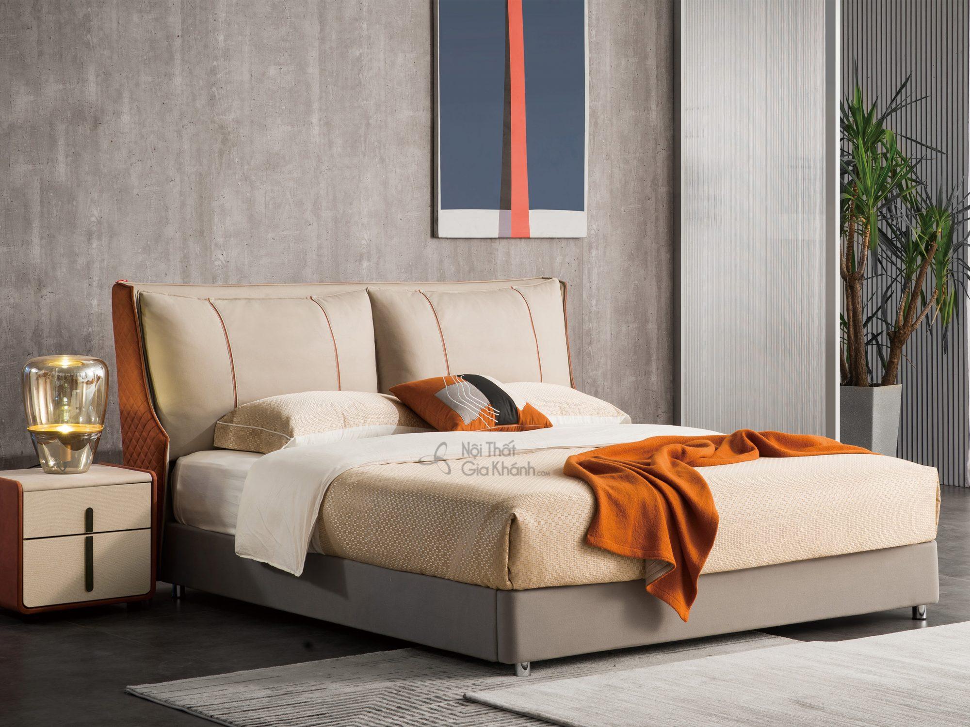 Giường hiện đại bọc vải 1m8*2m GILB600-18
