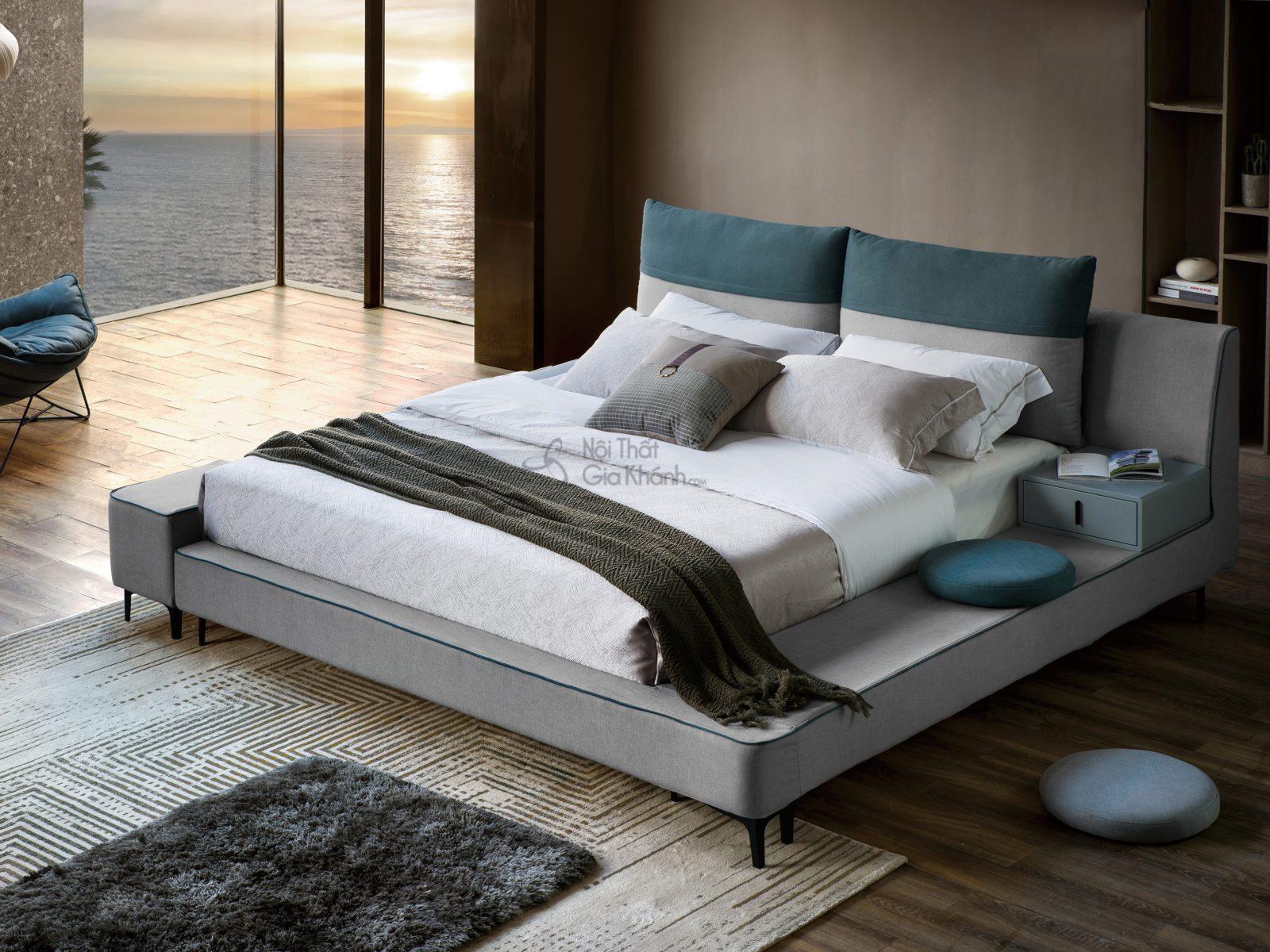 Giường King Size hiện đại GILB602-18 1m8*2m