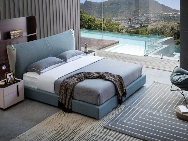 Giường ngủ cao cấp king size hiện đại GILB606-18