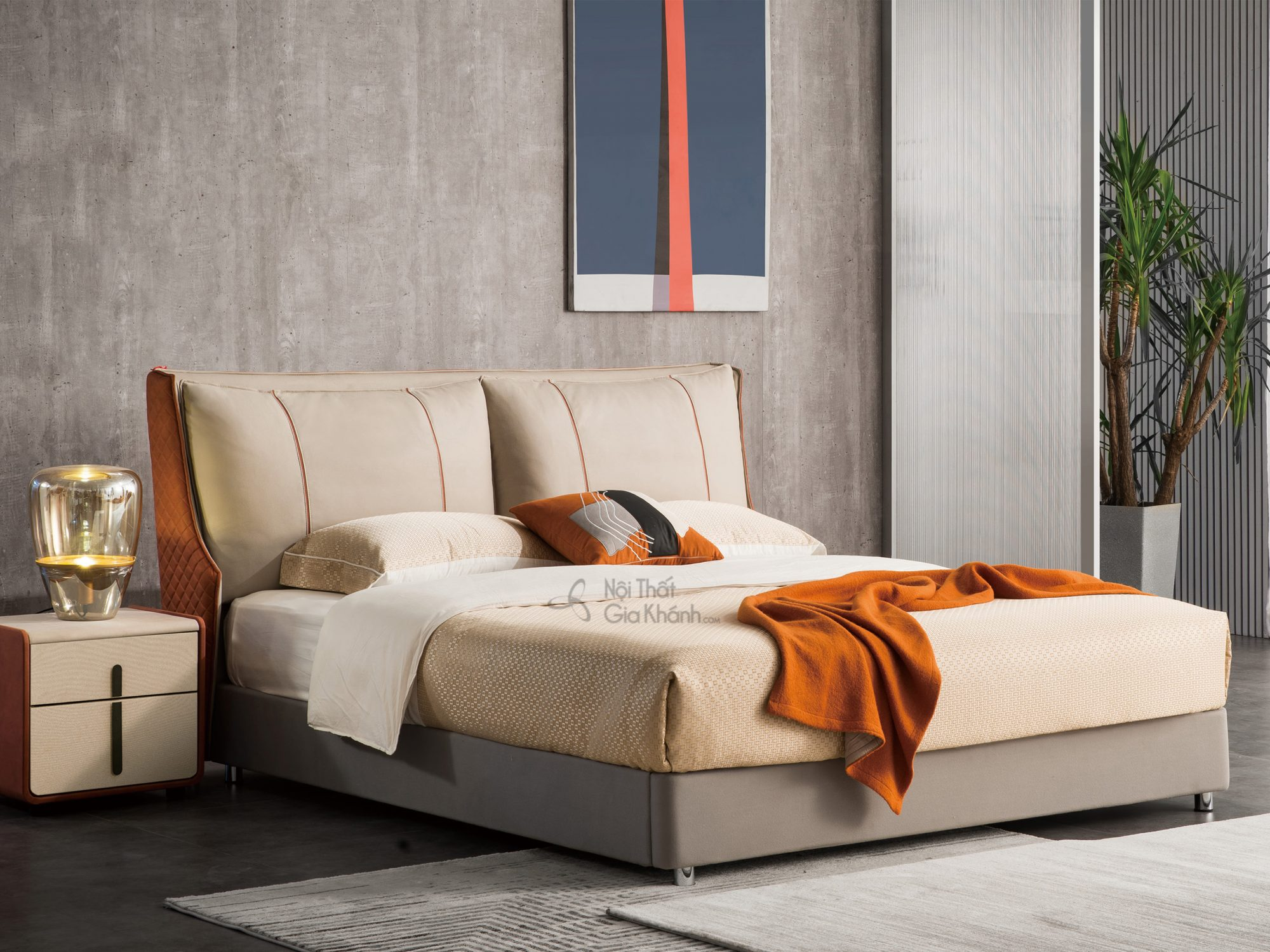 Tủ đầu giường gỗ sồi cao cấp TALH700