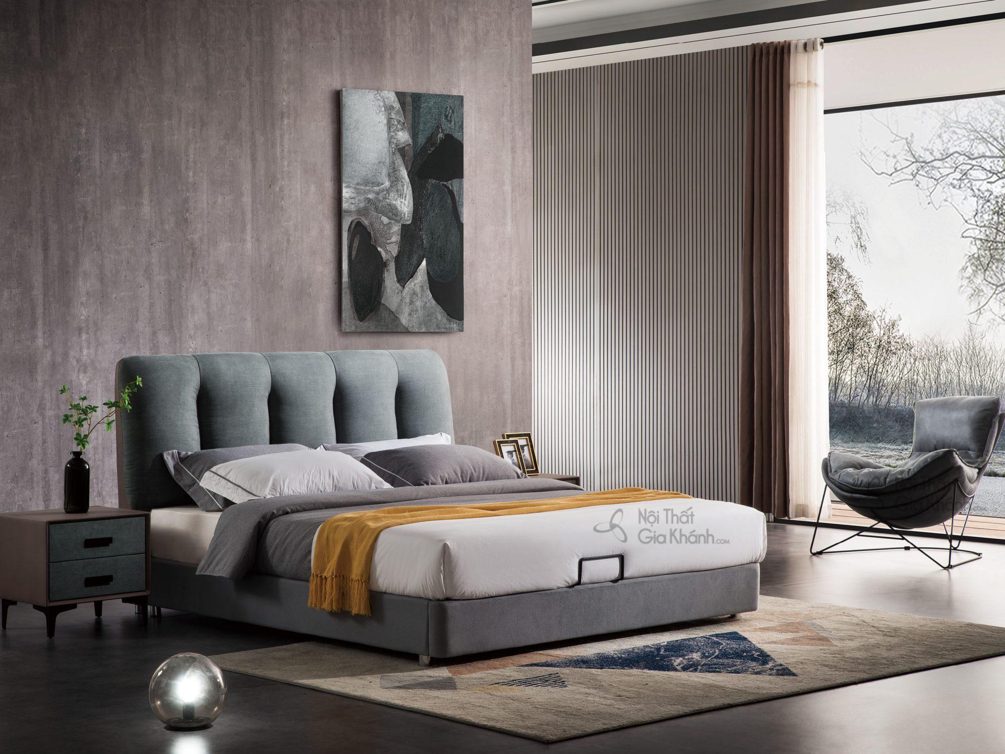 Tủ đầu giường hiện đại bọc vải TALH701