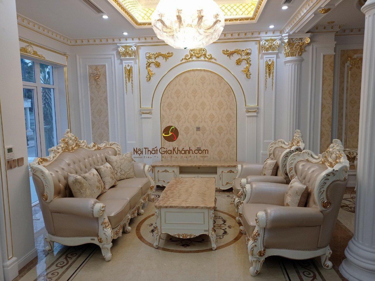 Hình ảnh combo phòng khách tại nhà khách hàng Lê Huy - Vinhomes The Harmony