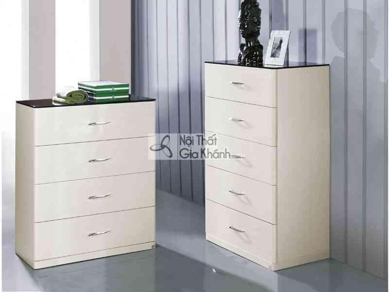 Tủ ngăn kéo bằng gỗ nhập khẩu TK8801-4