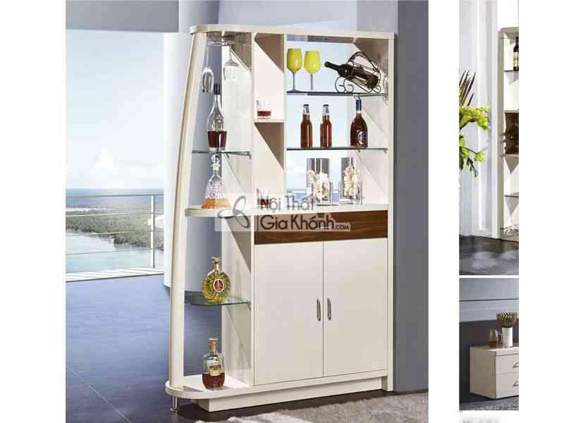 Tủ rượu gỗ hiện đại cho phòng khách TR3304