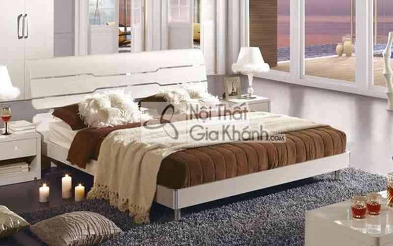 Giường Ngủ Gỗ Tự Nhiên Hiện Đại Chất Lượng Cao 3311As