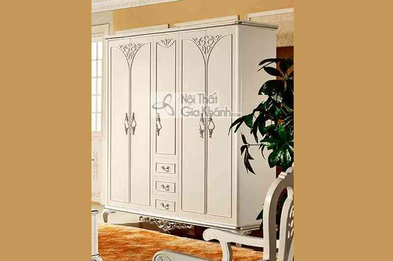 Bộ phòng ngủ tân cổ điển phong cách Pháp sang trọng 58633BG