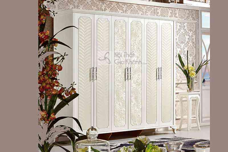 Bộ phòng ngủ phong cách tân cổ điển Pháp cao cấp 63662BG