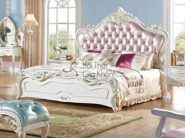 Giường Ngủ Phong Cách Hoàng Gia Bh1109Al