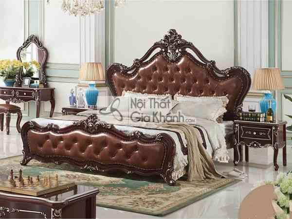 Giường Ngủ Gỗ Cao Cấp Bh901Al