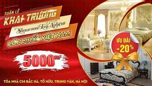 Siêu thị nội thất nhập khẩu số 1 Hà Nội