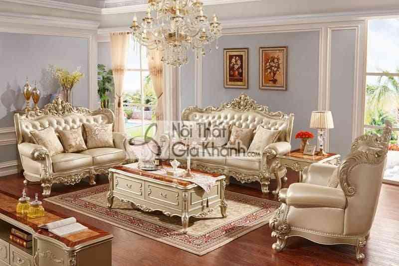 Bộ Bàn Ghế Sofa Phòng Khách Đẹp Tại Thanh Hóa