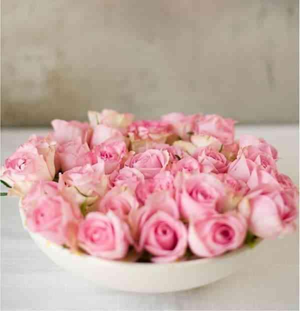 Bình Cắm Hoa Đẹp Hình Tròn
