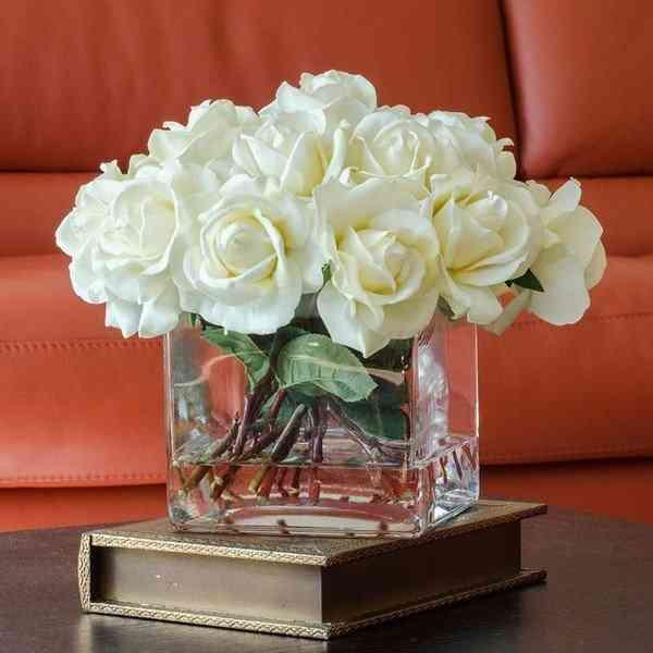 Bình Cắm Hoa Thủy Tinh Dạng Vuông