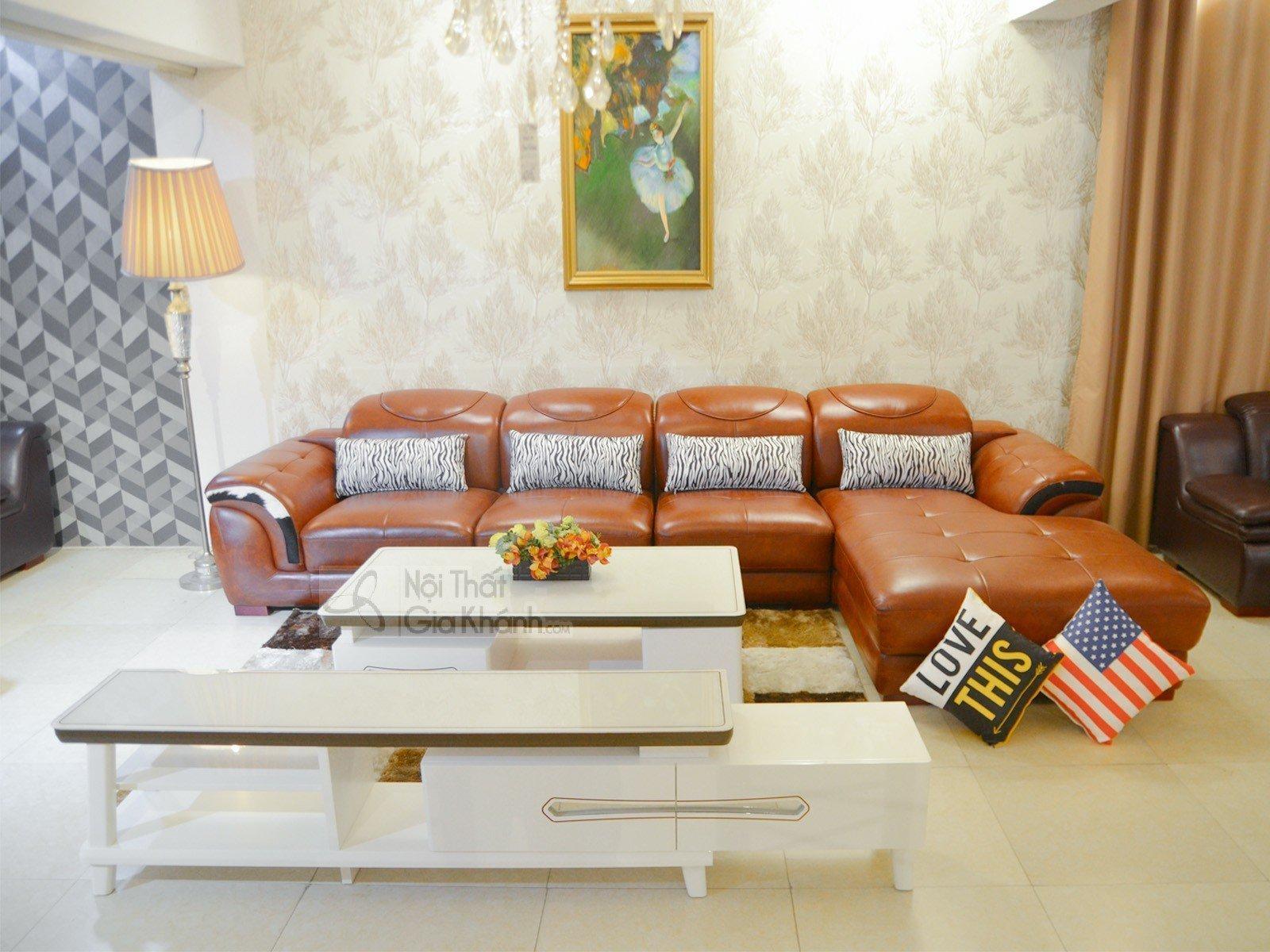 Sofa Da Bò 3 Băng Góc Trái 9192B Sf 1