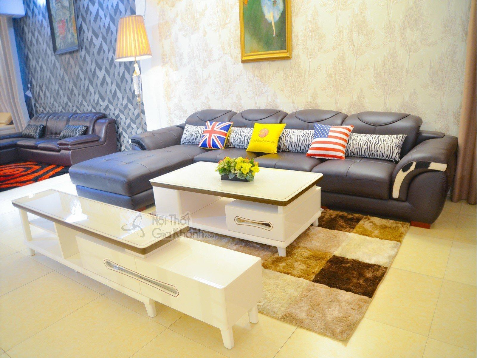 Sofa Nâu Cafe 3 Băng Góc Phải Mã 9192N-Sf