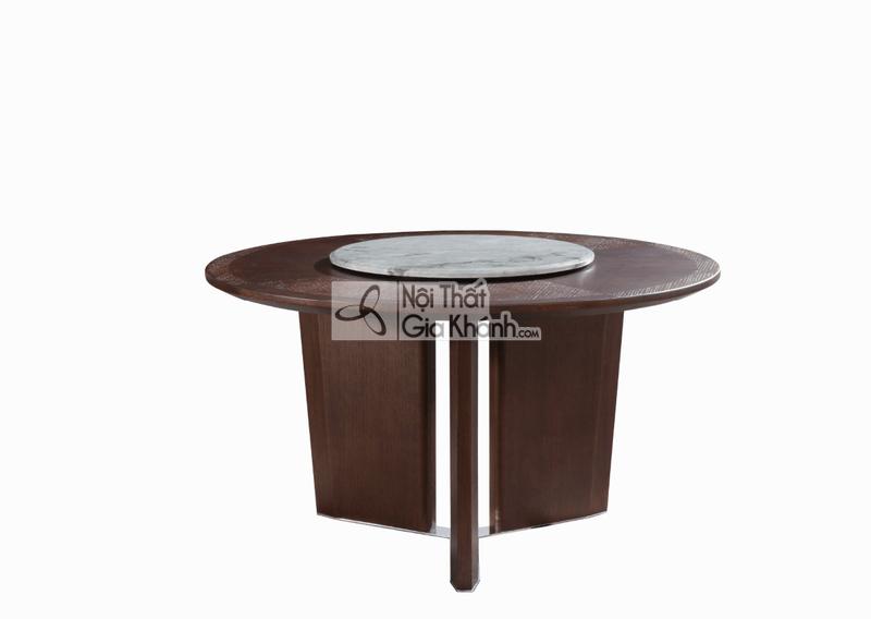 Bộ bàn ăn gỗ hiện đại nhập khẩu 1801BBAT