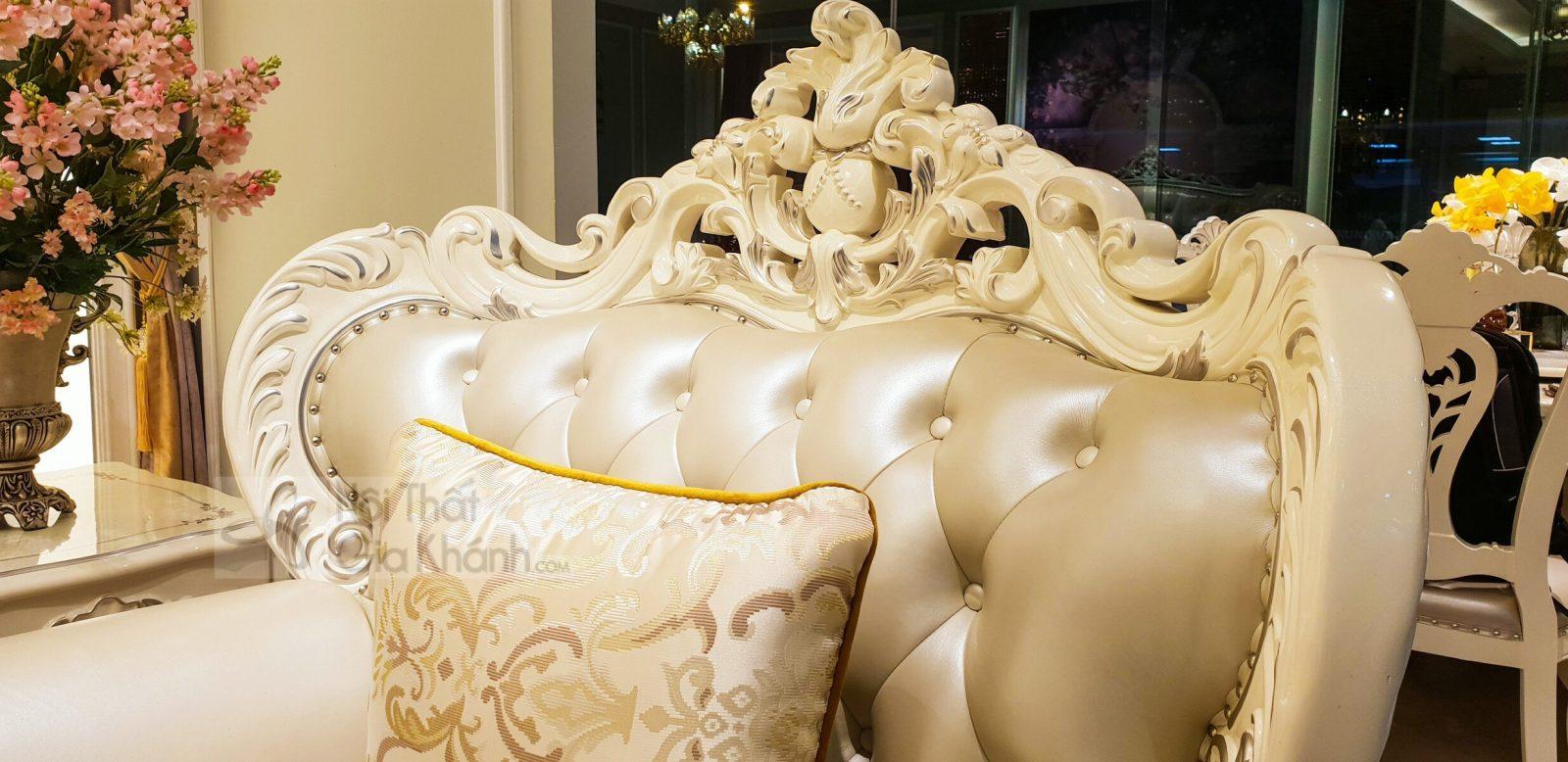bo ghe sofa tan co dien sang trong cho phong khach sb931h 123 3 - Bộ ghế sofa tân cổ điển sang trọng cho phòng khách SB931H-123