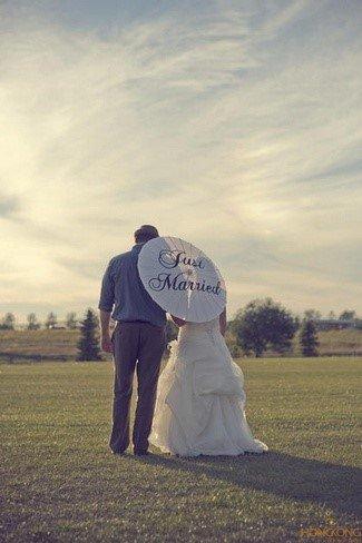 10 ý tưởng chụp ảnh cưới độc lạ cho các cặp đôi - chiec o tinh yeu
