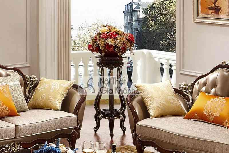 Đôn hoa trang trí phòng khách phong cách tân cổ điển DH8803G