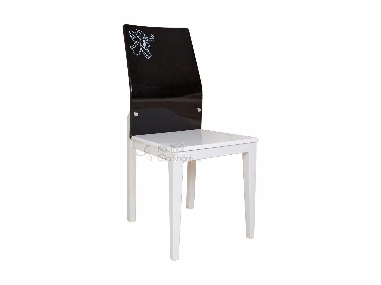 Ghế học gỗ công nghiệp màu đen đẹp CY01032
