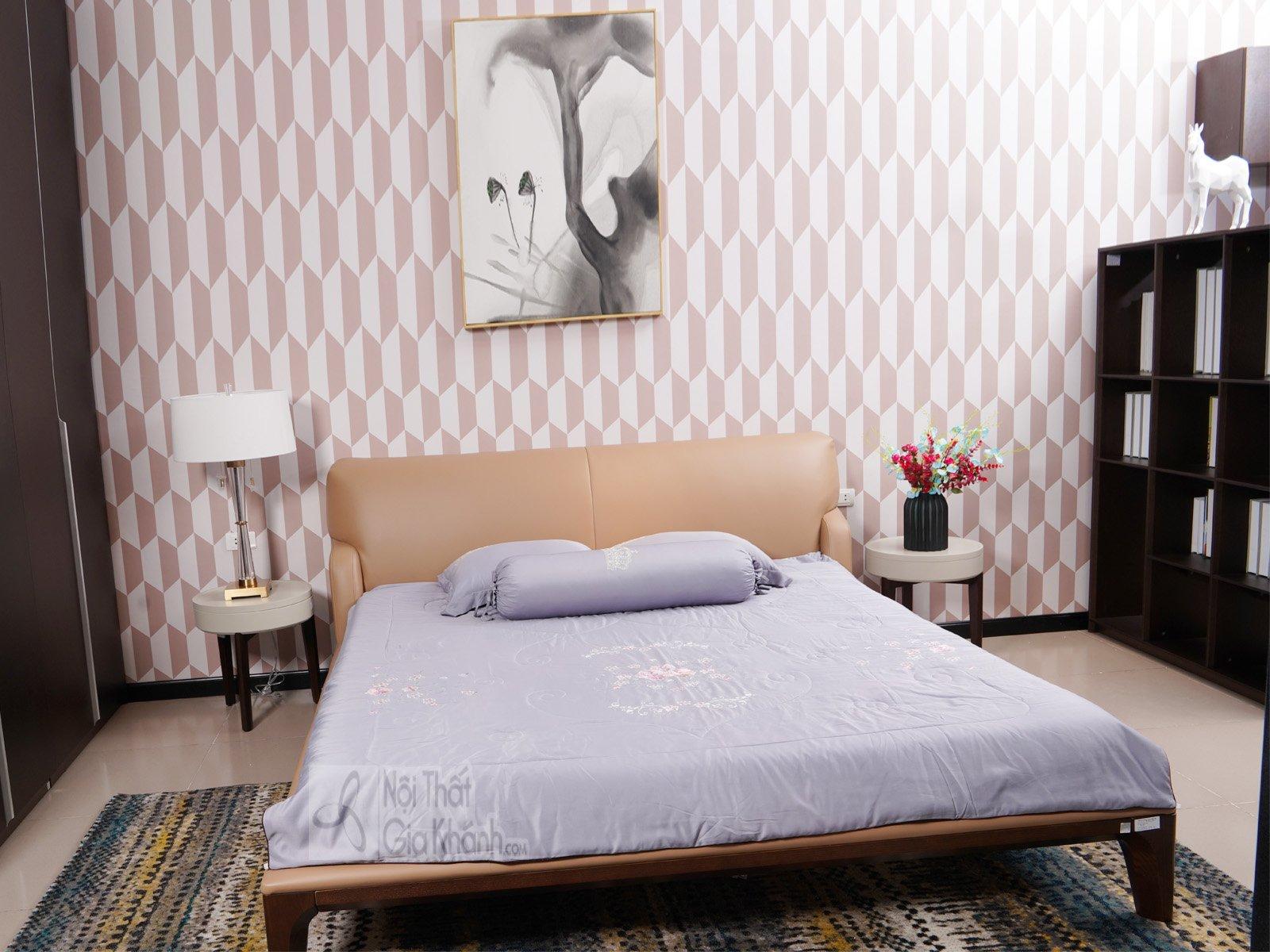 giuong ngu 1805AL - Tủ để đầu giường đơn giản hiện đại TA1805